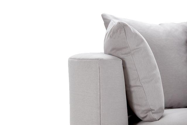 Merrick Gray Fabric Swivel Chair