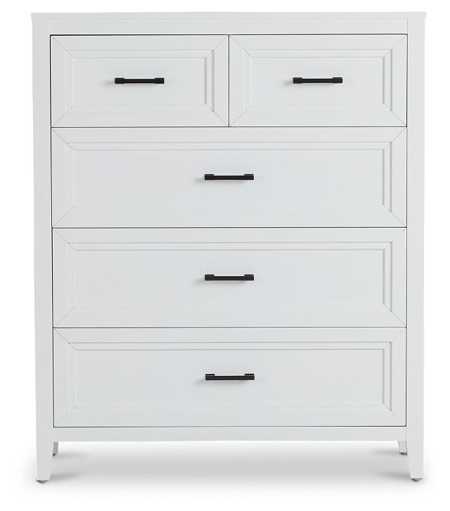 Nantucket White Drawer Chest (1)