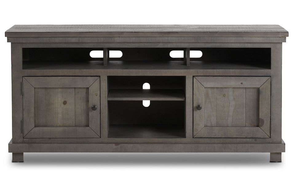 """Willow Gray 64"""" Tv Stand,"""