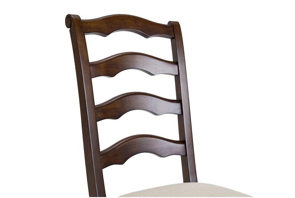 Savannah Dark Tone Wood Side Chair
