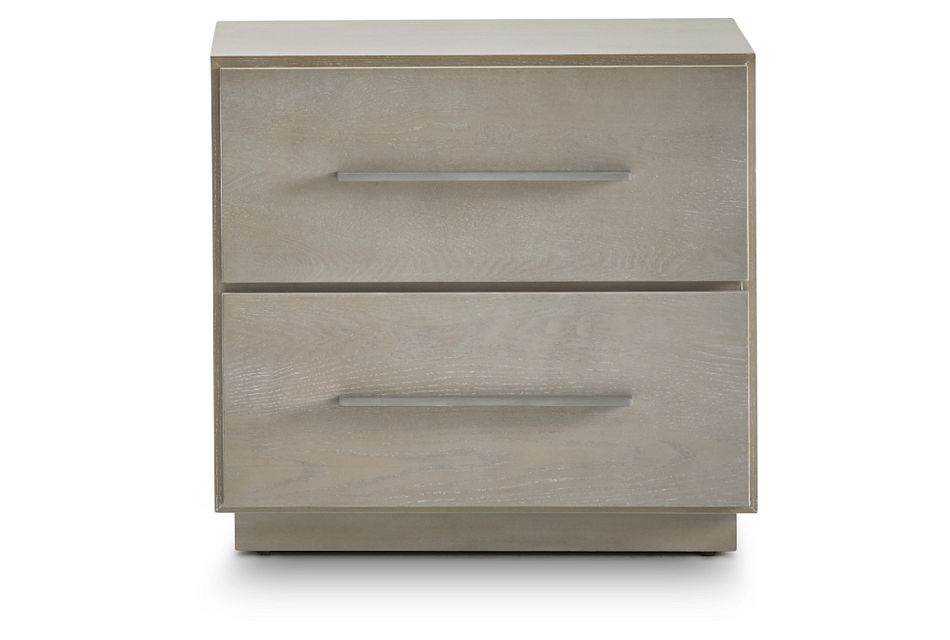 Destination Light Tone 2-drawer Nightstand
