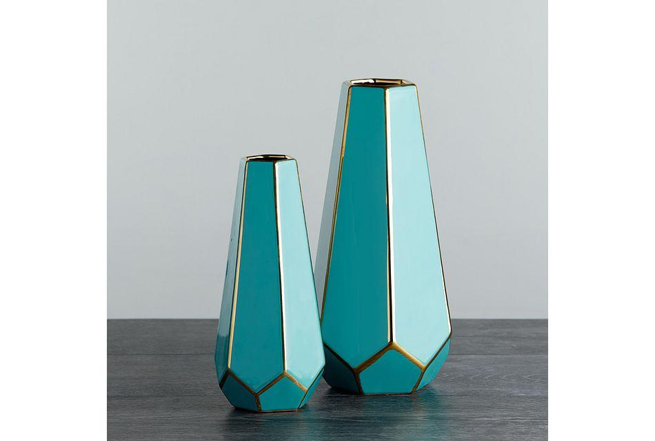 Winika Teal Large Vase