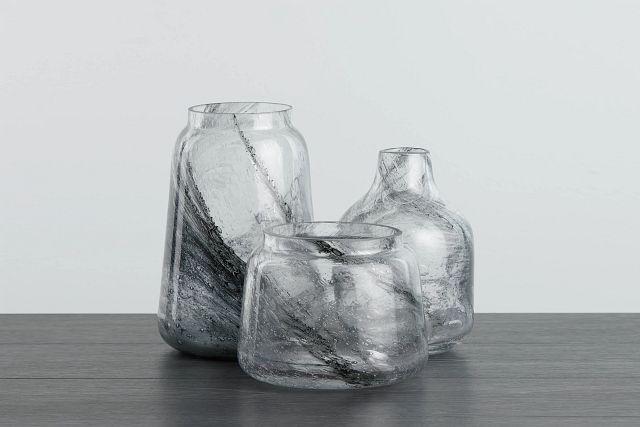 Evie Gray Vase (0)