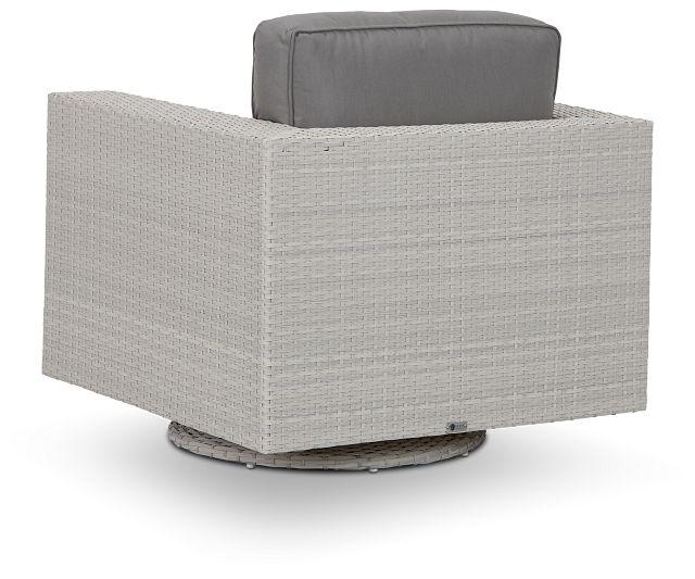 Biscayne Gray Swivel Chair (3)