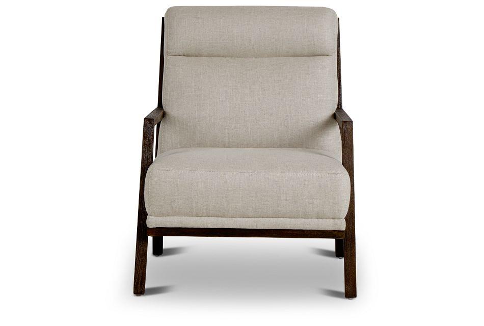 Brando Beige Fabric Accent Chair,  (3)
