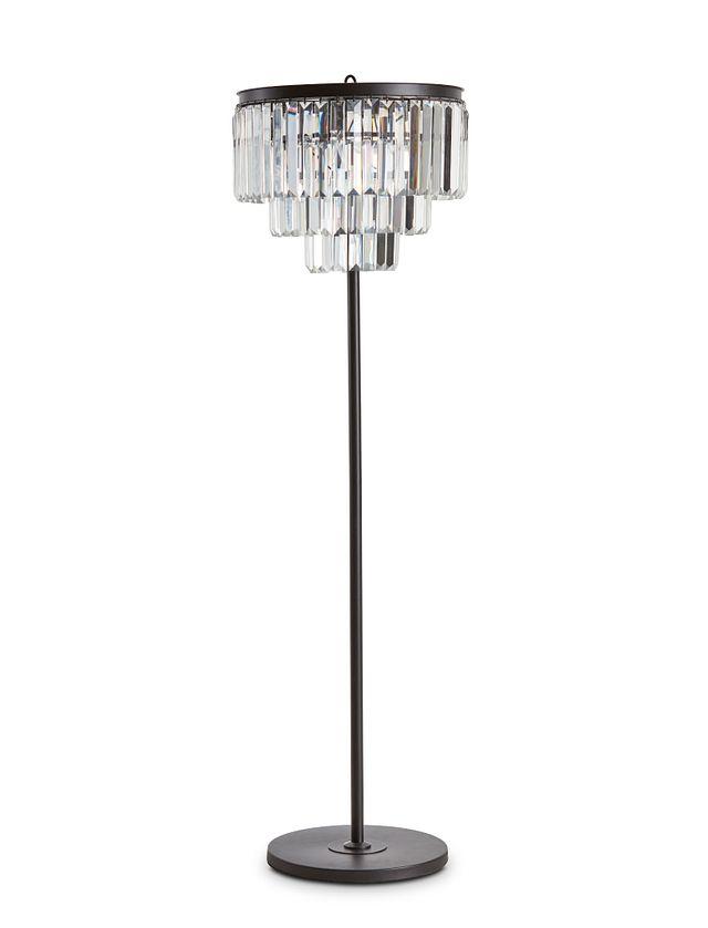 Audrey Black Floor Lamp (0)