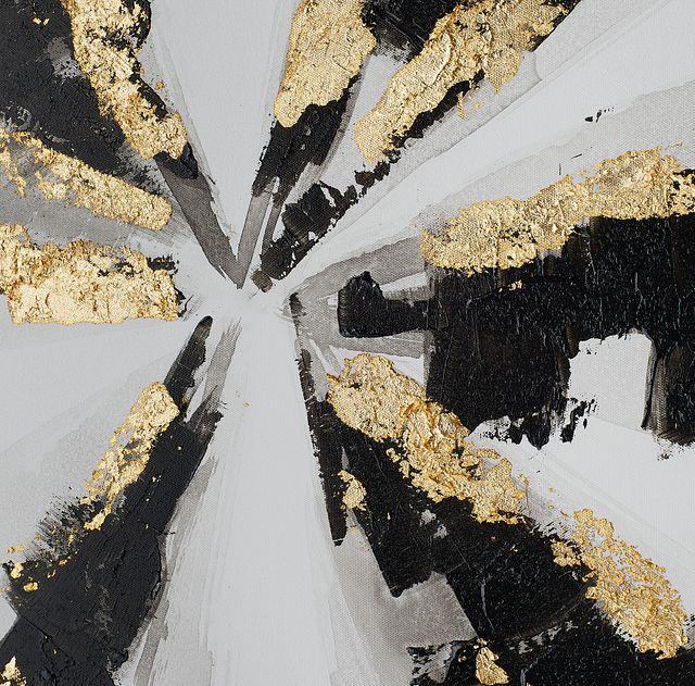 Jago Black Framed Canvas Wall Art (1)