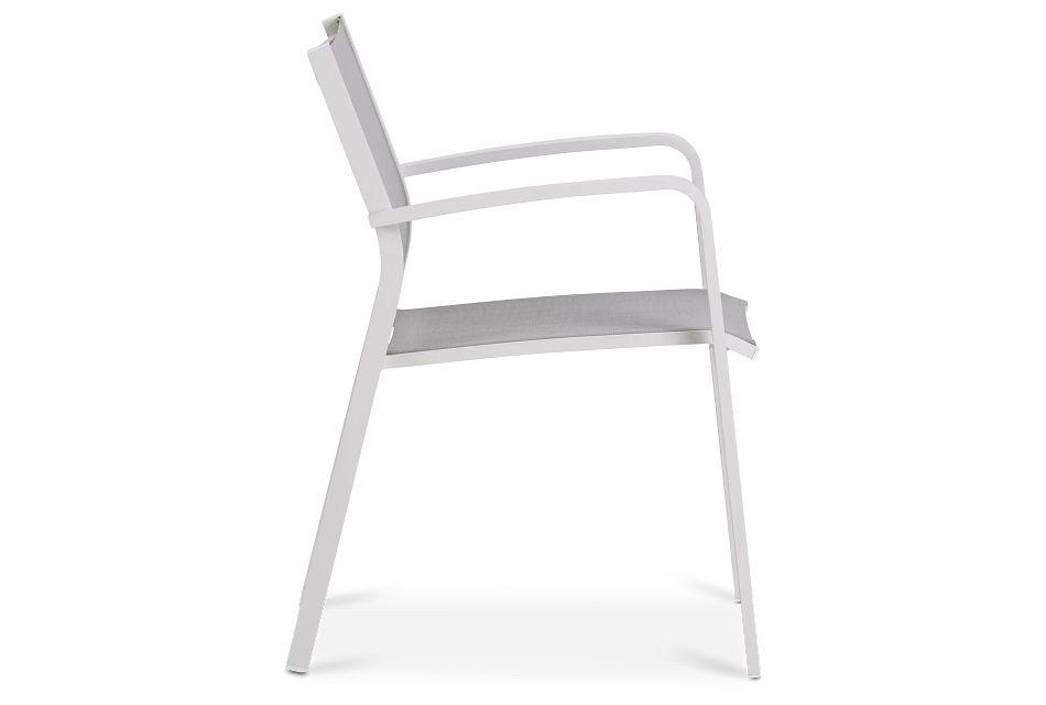 Lisbon Gray Sling Chair,  (1)