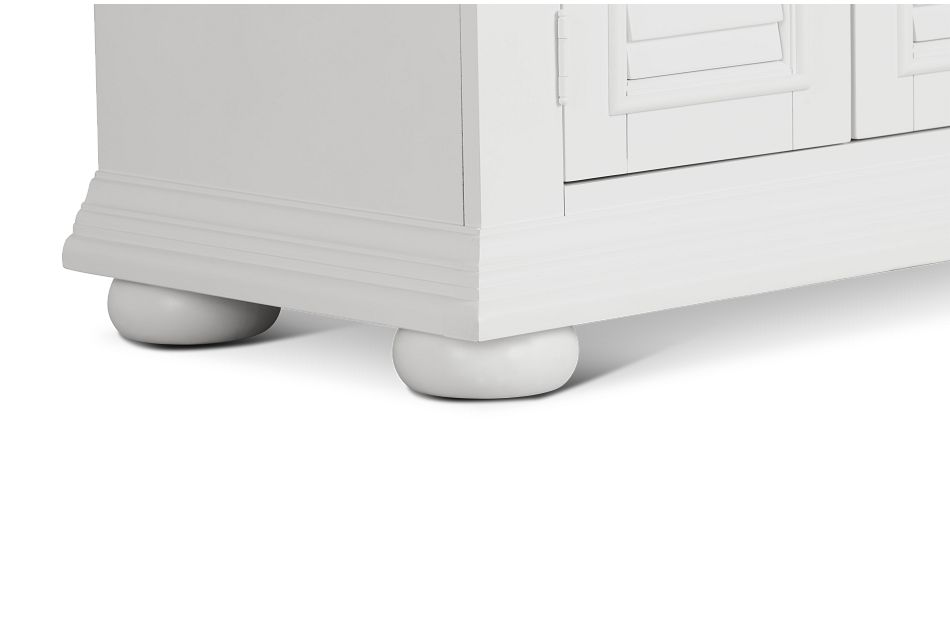 Quinn White Door Nightstand