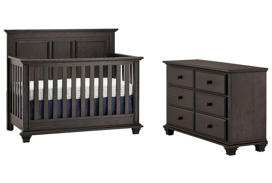 Kenilworth Dark Tone Crib Bedroom