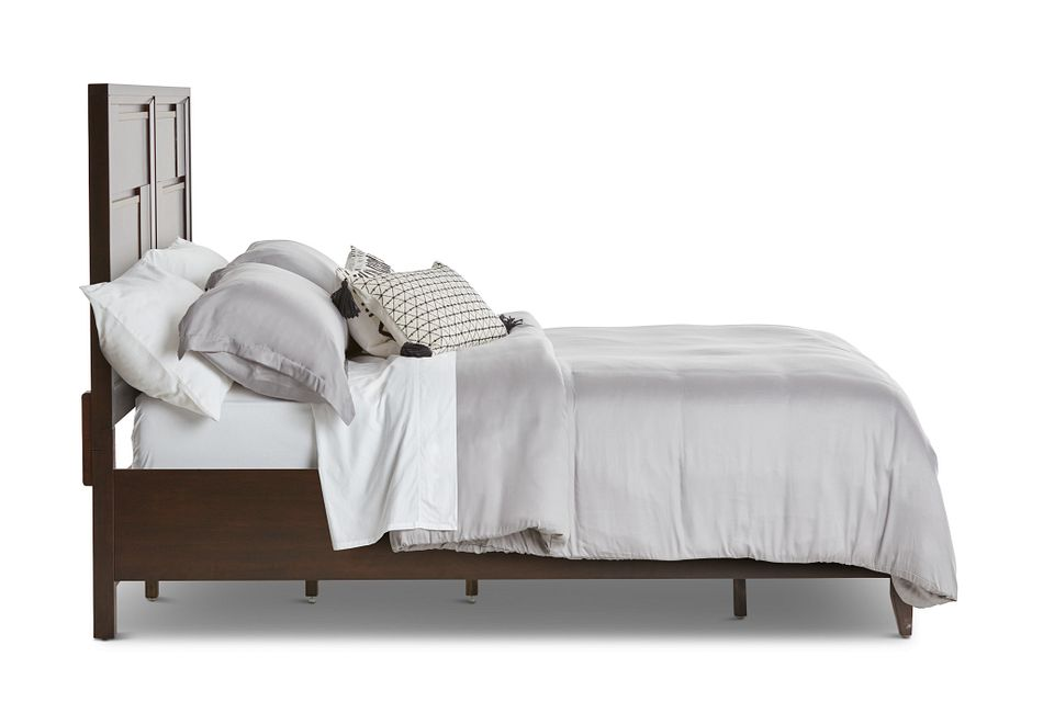 Sedona Dark Tone Panel Bed