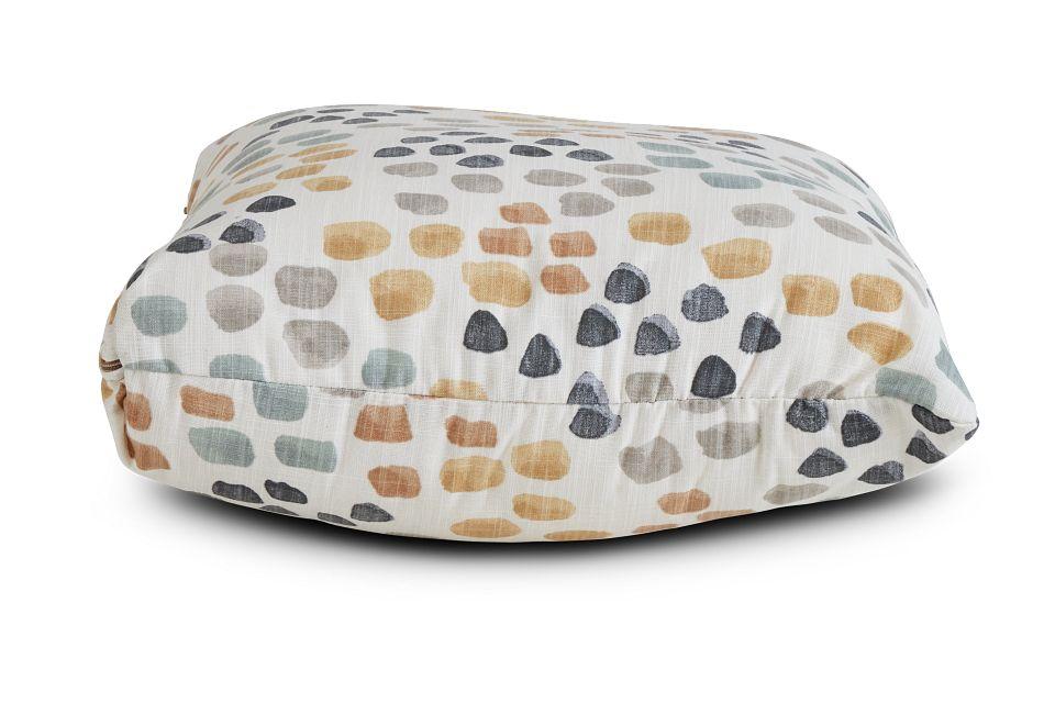 "Pfeiffer Yellow Fabric 18"" Accent Pillow,  (2)"