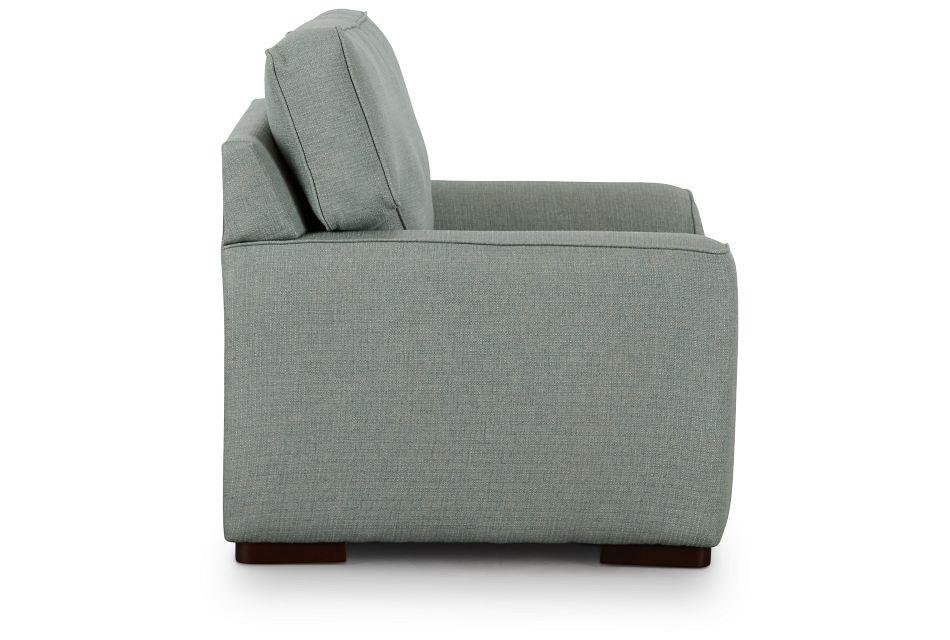 Austin Green Fabric Chair,  (2)