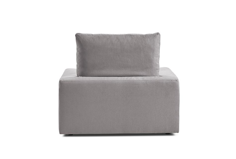 Nixon Light Gray Fabric Chair
