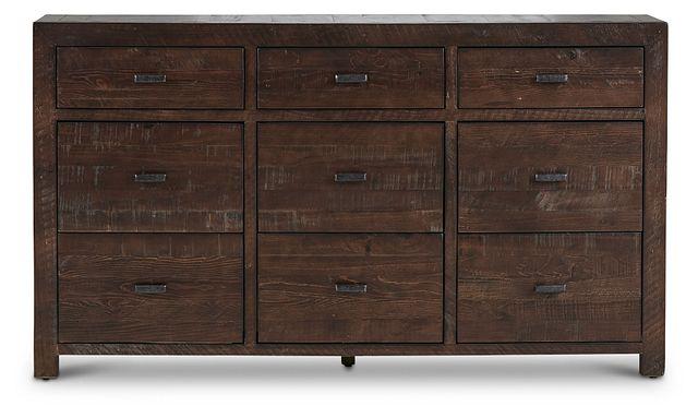 Seattle Dark Tone Large Dresser (1)