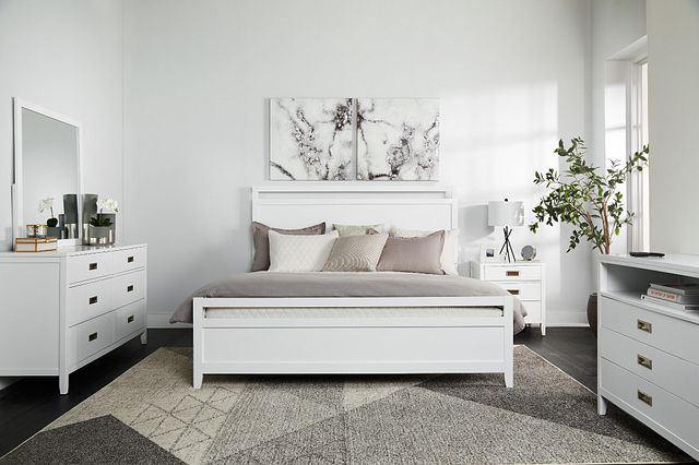Chatham White Panel Bedroom Package (2)