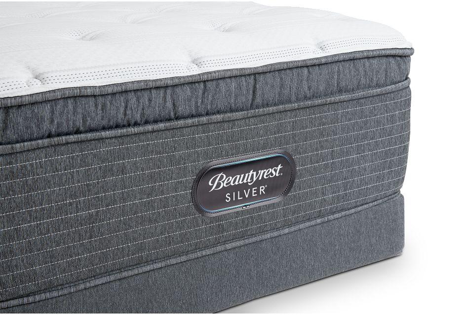 Ferndale Plush Pillow Top Low-Profile Mattress Set, Twin (1)