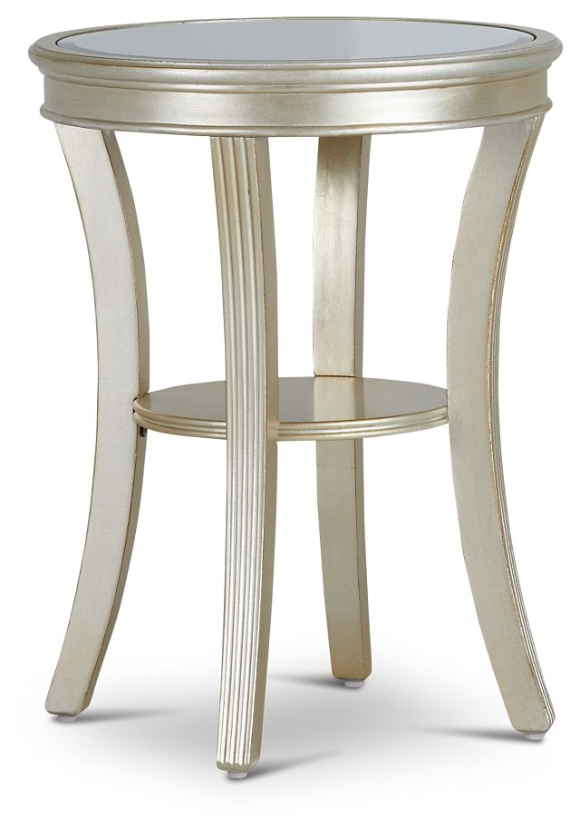 Zadie Silver Accent Table (1)