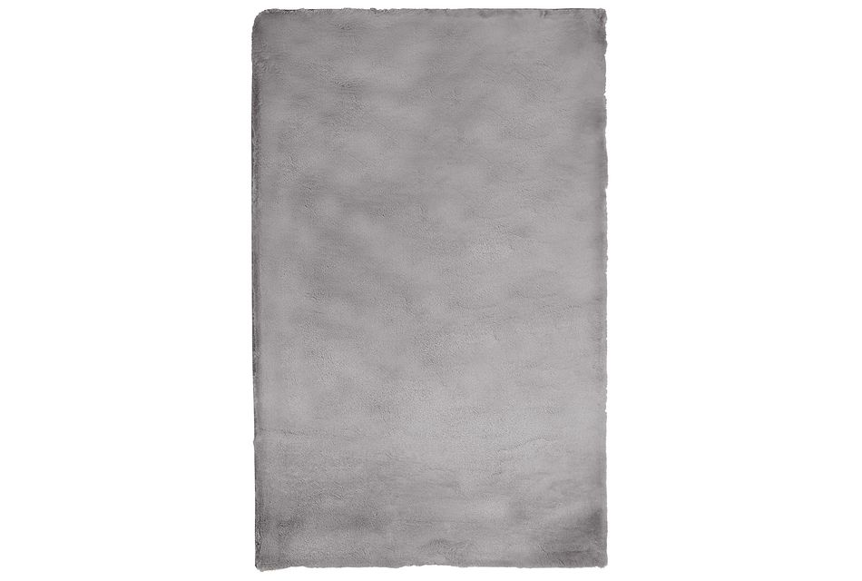 Kaycee Dark Gray 2x3 Area Rug