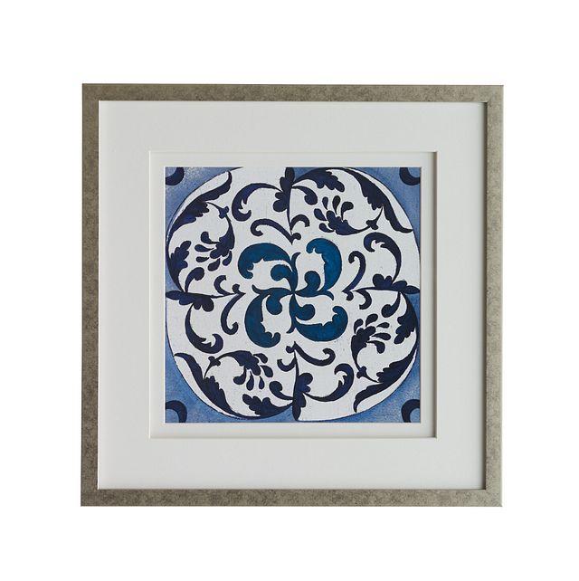 Mora Dark Blue Framed Wall Art (0)