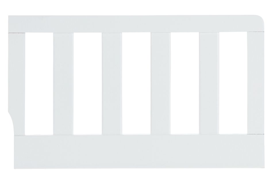 Parker White Toddler Guard Rail, %%bed_Size%% (0)