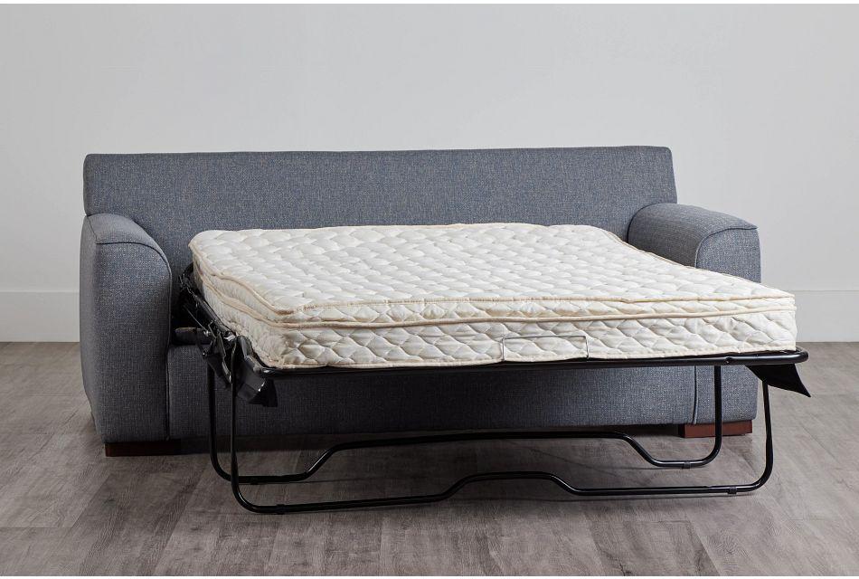 Austin Blue Fabric Innerspring Sleeper, Full (0)