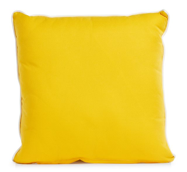 """Forest Yellow 20"""" Indoor/outdoor Square Accent Pillow (0)"""