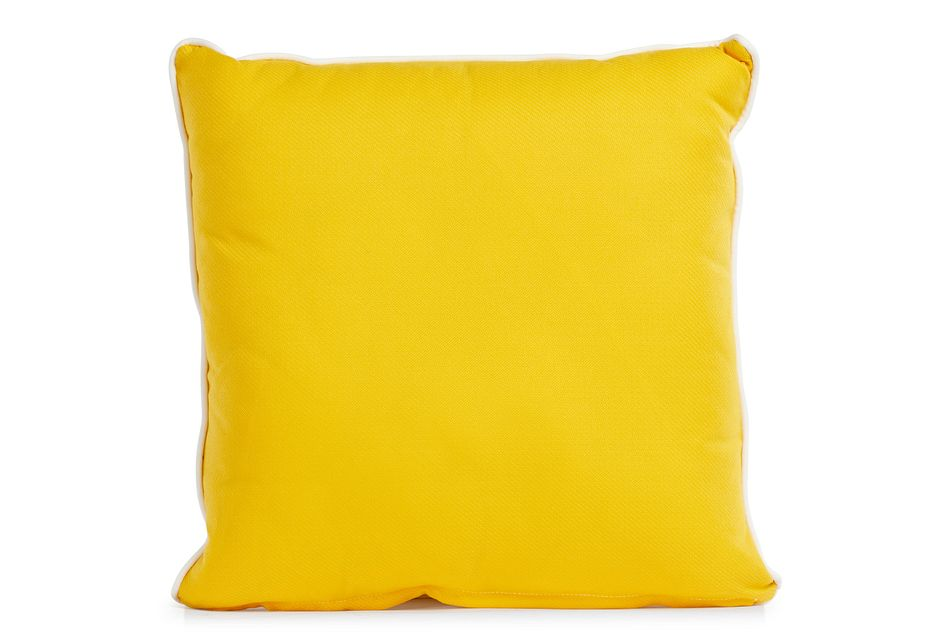 "Forest Yellow 20"" Indoor/outdoor Square Accent Pillow"
