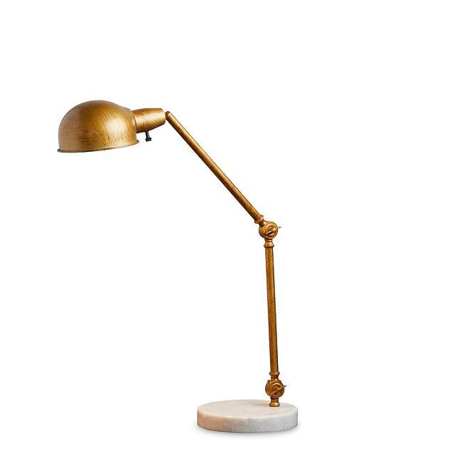 Draper Gold Desk Lamp (3)