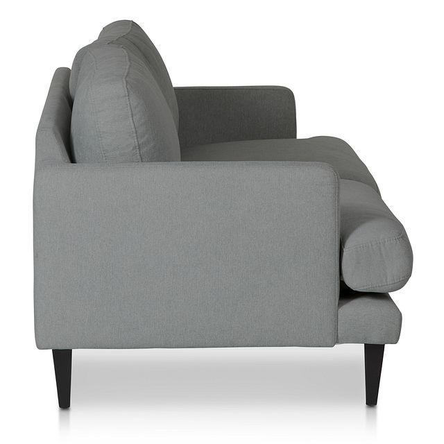 Fremont Gray Fabric Sofa (2)