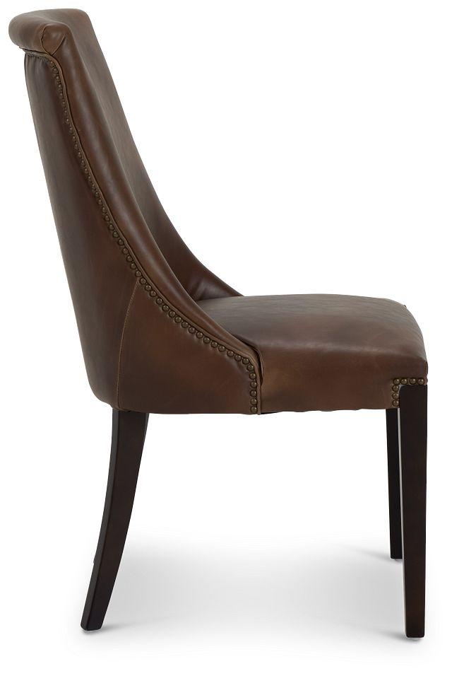 Brynn Brown Micro Side Chair (2)