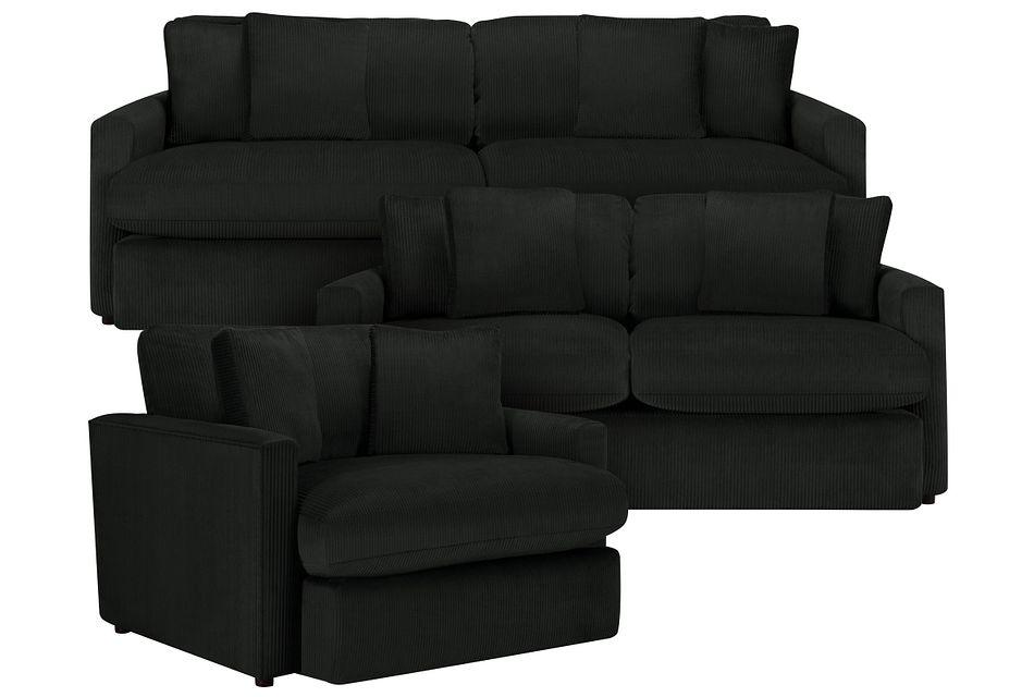 Tara2 Dark Gray  Micro Living Room