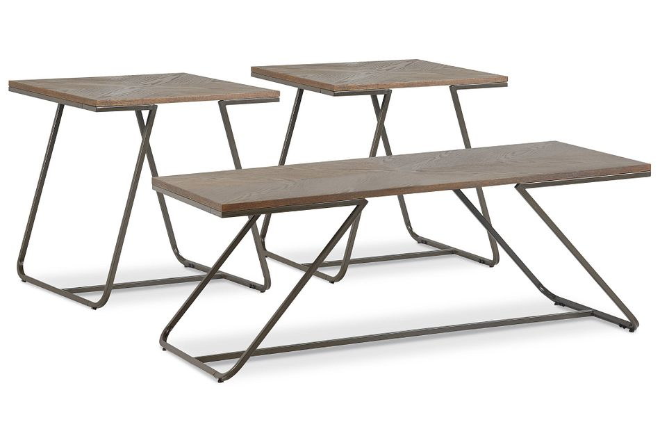 Duke Mid Tone 3 Pack Tables