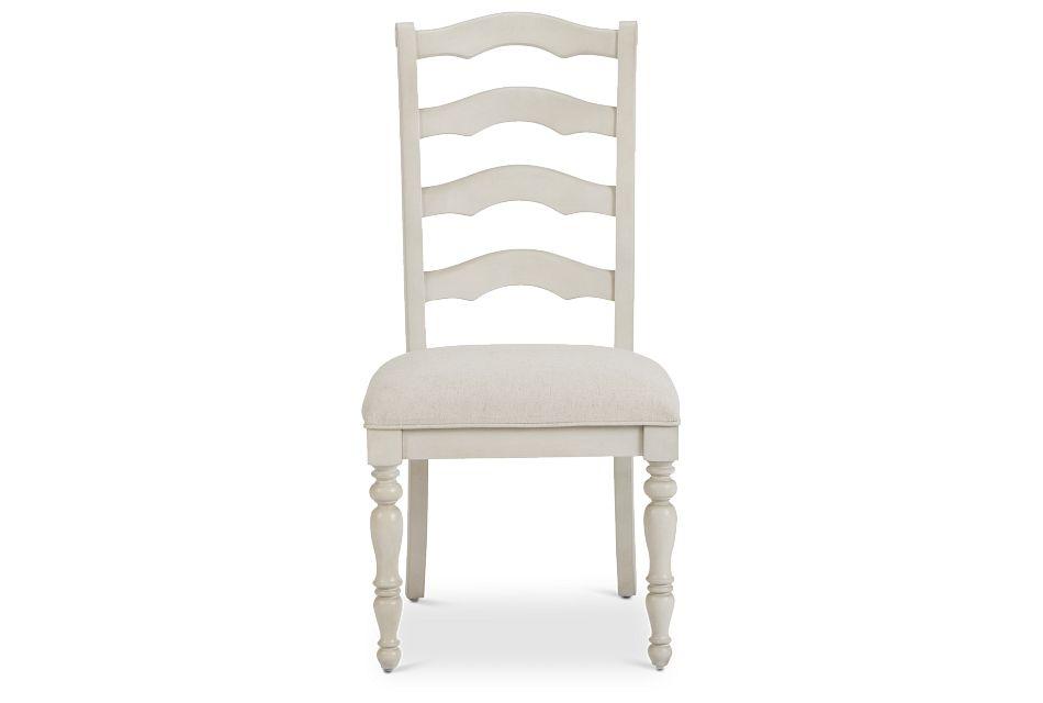 Savannah Ivory Wood Side Chair,  (3)