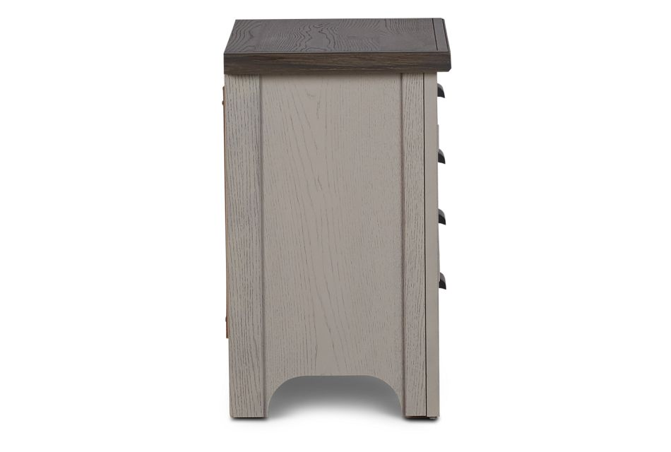 Bungalow Two-tone 2-drawer Nightstand