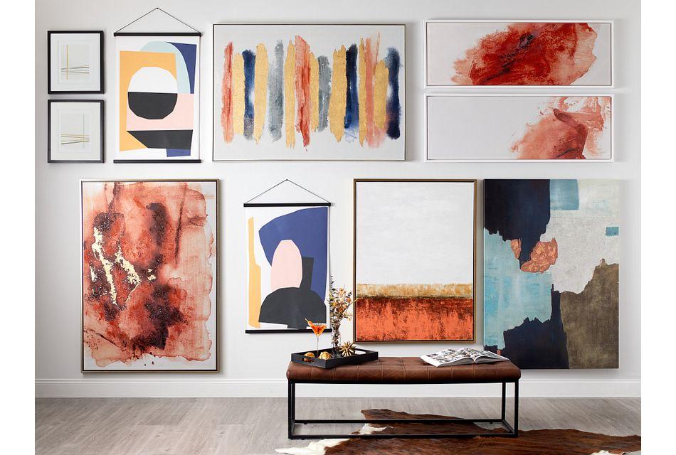 Inigo Multicolored Canvas Wall Art
