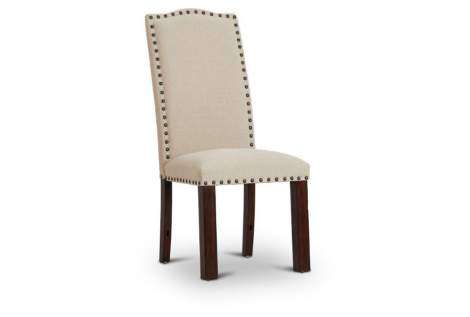 Napa Dark Tone Upholstered Side Chair,  (1)