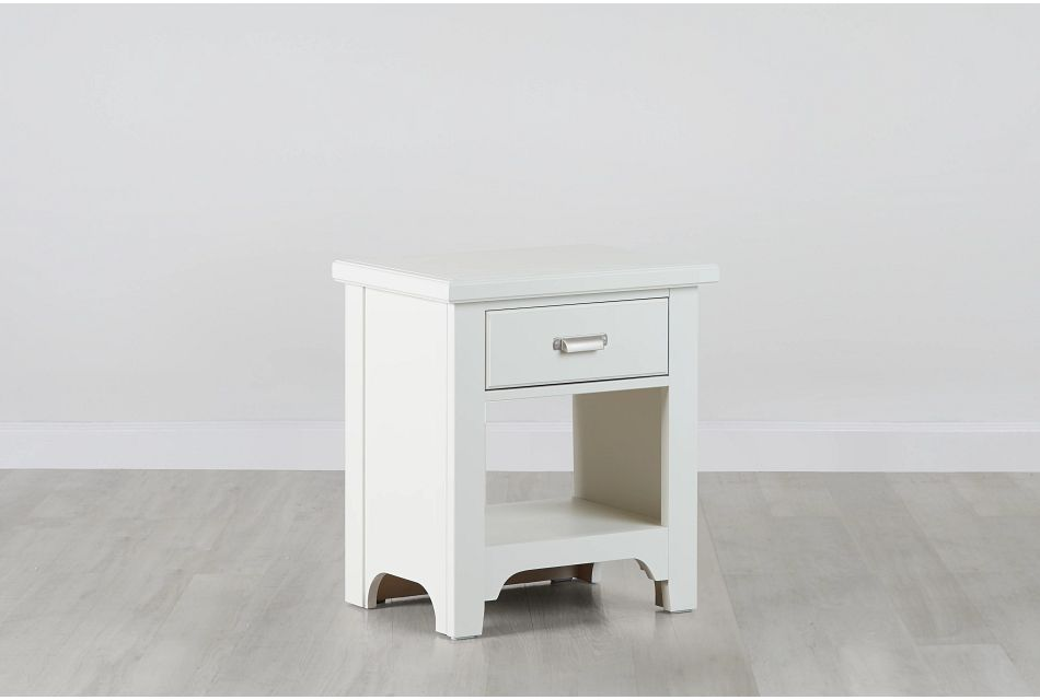Bungalow Ivory 1-drawer Nightstand
