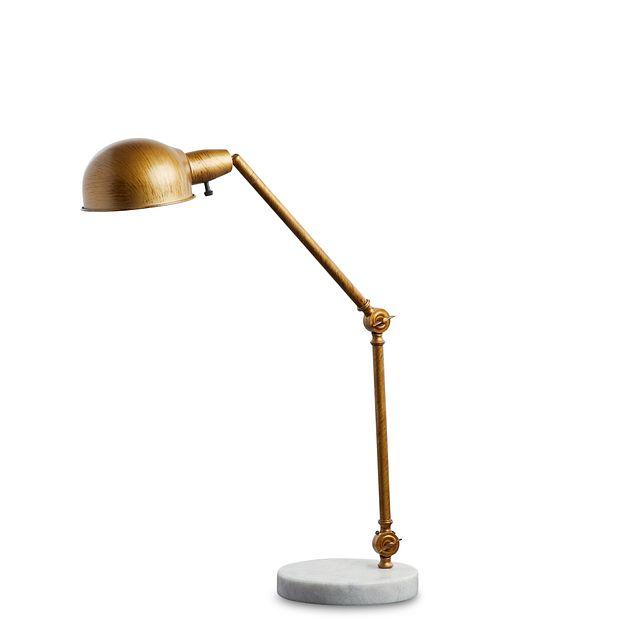 Draper Gold Desk Lamp (1)
