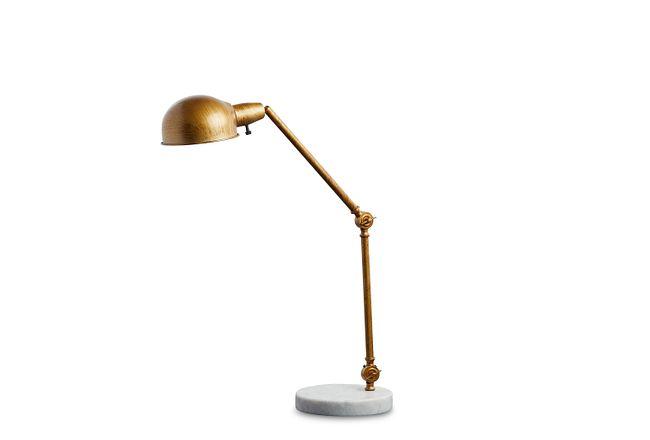 Draper Gold Desk Lamp