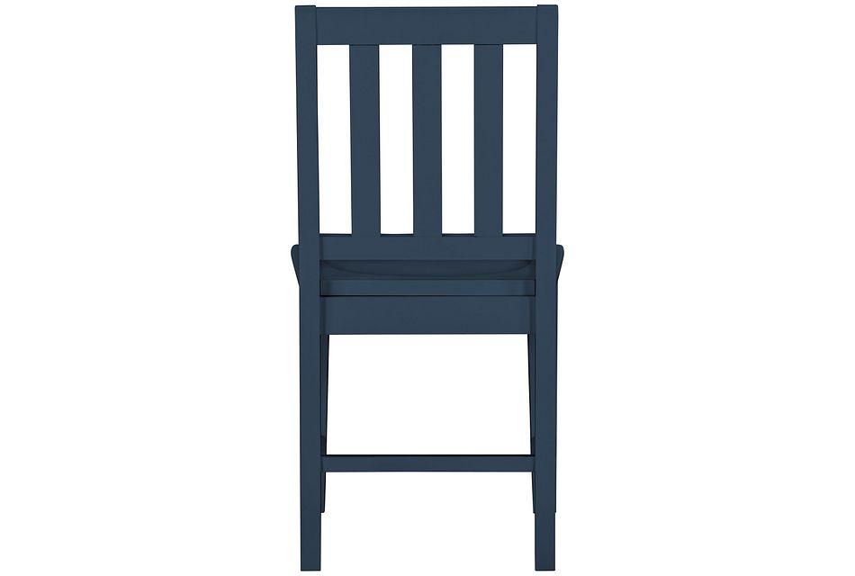 Ryder Dark Blue Chair