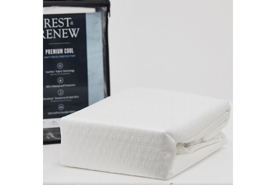 Rest & Renew Premium Cool Mattress Protector