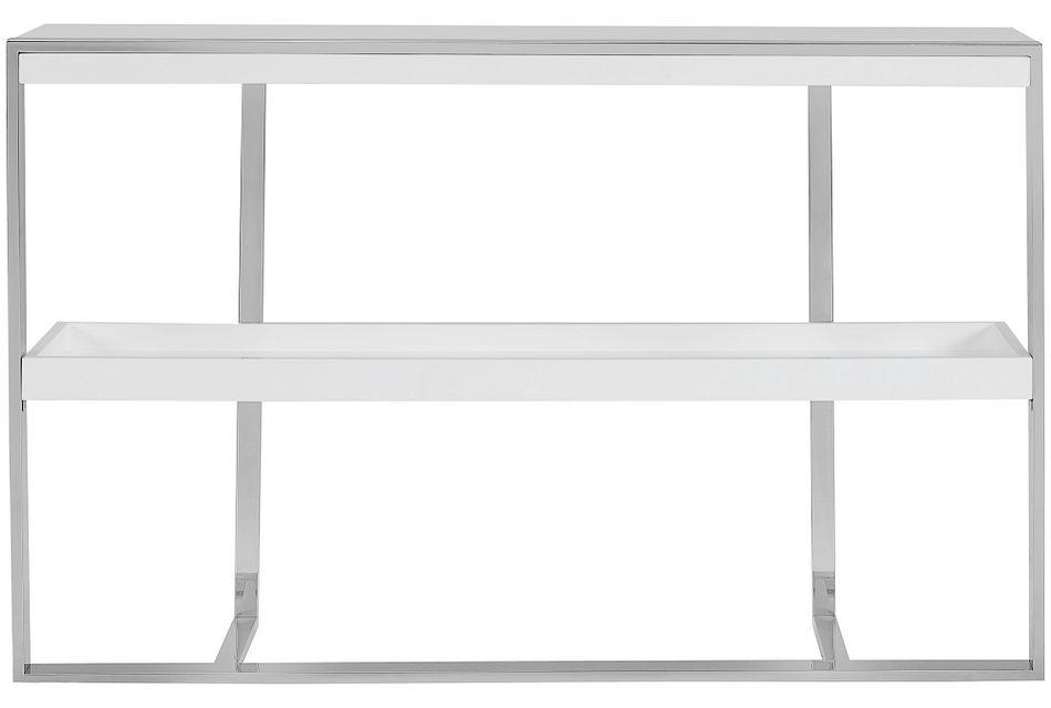 Neo White Small Bookcase