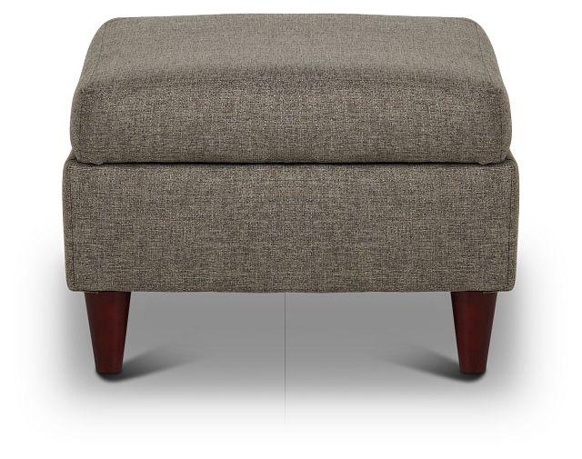 Jensen Dark Gray Fabric Storage Ottoman (2)