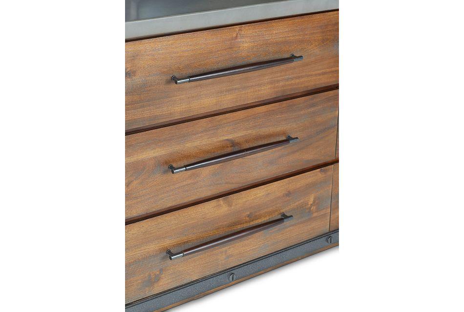 Forge Dark Tone Dresser & Mirror