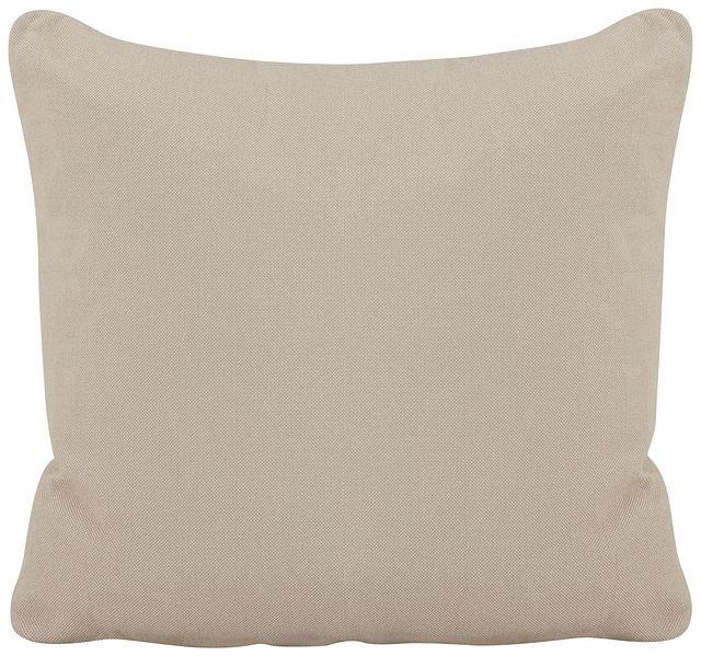Turner Khaki Fabric Square Accent Pillow (0)
