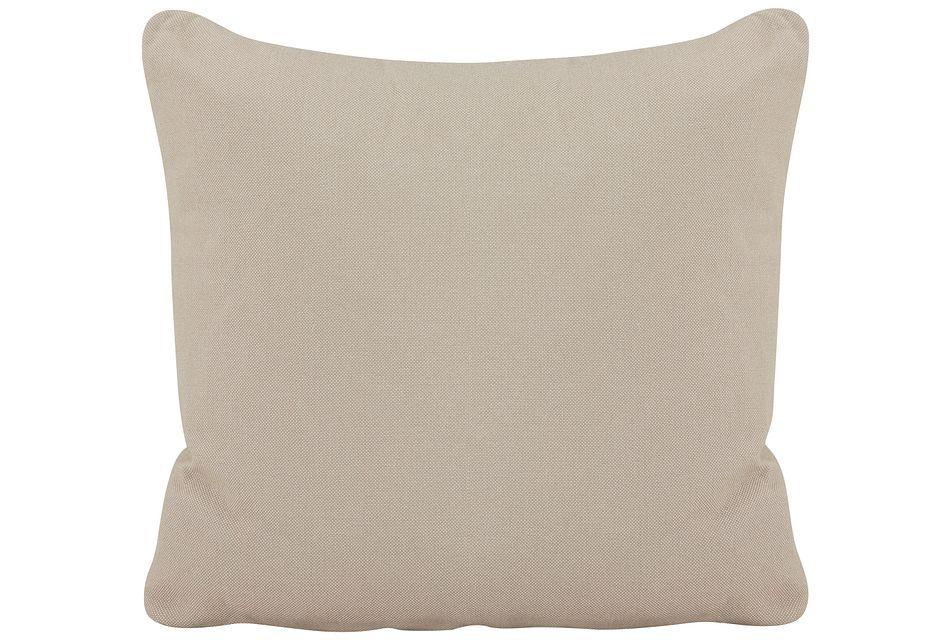 Turner Khaki Fabric Square Accent Pillow