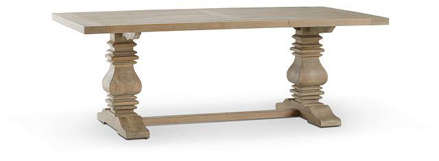 "Hadlow Gray 84"" Rectangular Table (3)"