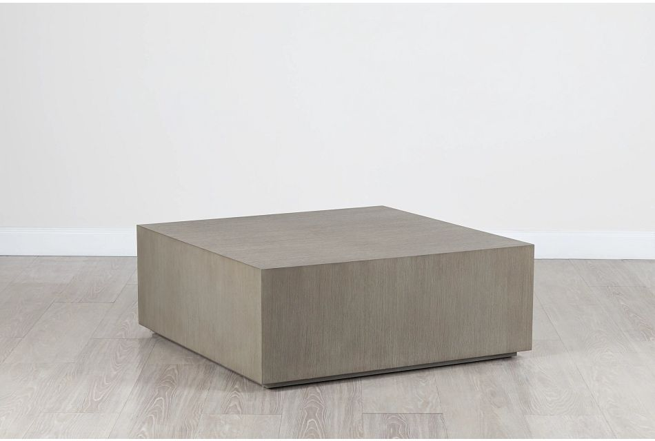 "Nixon Light Tone 42"" Square Coffee Table"