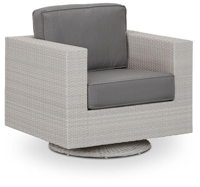 Biscayne Gray Swivel Chair (0)